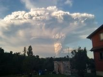vulcano Fotografie Stock