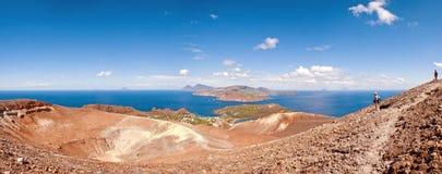 Vulcano, Aeolian Islands - Panorama Stock Photography