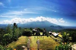 Vulcano Agung Bali Fotografia Stock