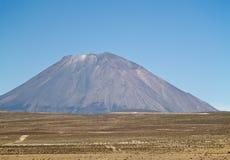 Vulcano al Perù immagine stock libera da diritti