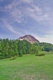 Vulcano attivo nel Giappone Immagini Stock
