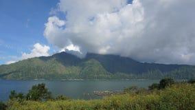 Vulcano Bali wyspa Zdjęcia Stock