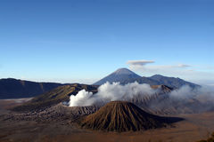 Vulcano Bromo Royalty Free Stock Photography