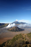 Vulcano Bromo. A huge vulcano with three craters on the island of Java, Indonesia Stock Photo
