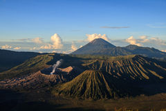 Vulcano in Bromo Tengger Semeru National Park (Indonesia) Stock Photo