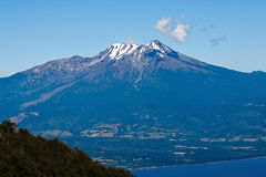 Vulcano Cile di Calbuco Immagine Stock Libera da Diritti