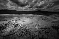 Vulcano de boue Photo libre de droits