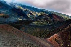 Vulcano de Etna Fotos de Stock