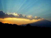 Vulcano del Etna imagen de archivo