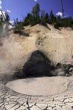 Vulcano del fango immagini stock
