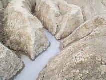 Vulcano del fango Immagine Stock
