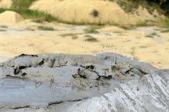 Vulcano del fango Immagine Stock Libera da Diritti
