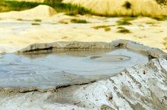 Vulcano del fango Immagini Stock Libere da Diritti