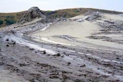 Vulcano del fango, Berca Immagini Stock