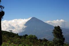 Vulcano dell'acqua, Guatemala Fotografie Stock