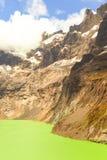 Vulcano dell'altare di EL del lago crater Fotografia Stock Libera da Diritti