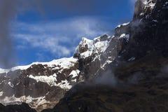 Vulcano dell'altare di EL delle rocce e della neve Fotografia Stock