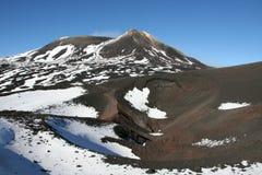Vulcano dell'Etna Fotografie Stock Libere da Diritti
