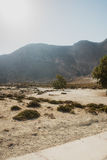 Vulcano dell'isola di Nisyros Fotografia Stock Libera da Diritti