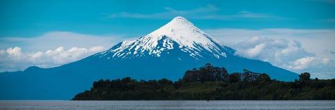 Vulcano dell'Osorno Fotografia Stock Libera da Diritti