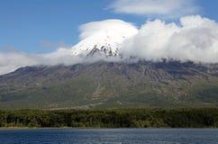 Vulcano dell'Osorno, Cile Immagini Stock Libere da Diritti