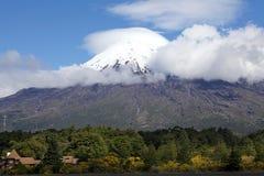 Vulcano dell'Osorno, Cile Immagini Stock