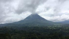 Vulcano di Aranel Fotografia Stock