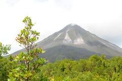 Vulcano di Arenal, Costa Rica Immagine Stock