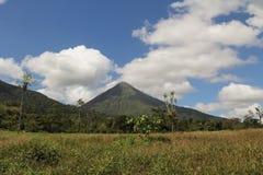 Vulcano di Arenal, Costa Rica Fotografie Stock Libere da Diritti