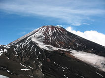 Vulcano di Avacha, Kamchatka Fotografie Stock