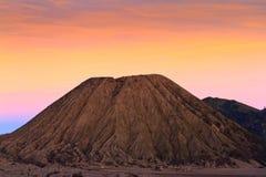 Vulcano di Batok, Indonesia. Fotografia Stock Libera da Diritti
