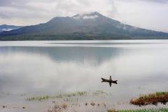 Vulcano di Batur fotografia stock