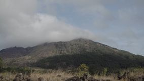 Vulcano di Batur, Bali, Indonesia Immagine Stock