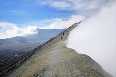 Vulcano di Bromo dall'Indonesia Fotografia Stock
