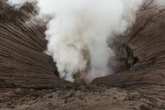 Vulcano di Bromo della montagna - isola Java Indonesia Fotografia Stock Libera da Diritti