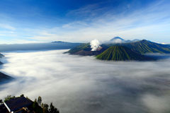 Vulcano di Bromo in Indonesia Fotografia Stock Libera da Diritti