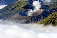 Vulcano di Bromo in Indonesia Fotografia Stock