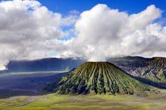 Vulcano di Bromo in Indonesia Immagine Stock Libera da Diritti