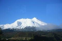 Vulcano di Chabulco, Cile fotografia stock