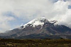 Vulcano di Chimborazo. Il più alta sommità dell'Ecuador Immagini Stock Libere da Diritti