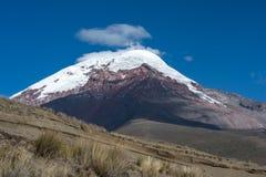 Vulcano di Chimborazo. Il più alta sommità dell'Ecuador Fotografia Stock