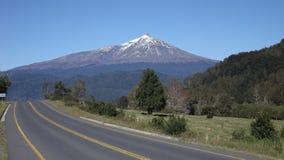 Vulcano di Choshuenco Immagine Stock
