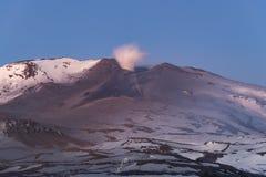Vulcano di Copahue Immagini Stock