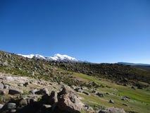 Vulcano di Coropuna immagini stock libere da diritti