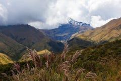 Vulcano di Cotacachi Fotografia Stock Libera da Diritti
