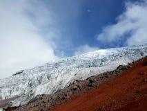 Vulcano di Cotopaxi Fotografia Stock