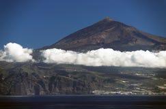 Vulcano di EL Teide Fotografia Stock