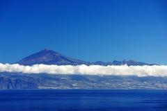 Vulcano di EL Teide Fotografie Stock