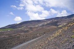 Vulcano di Etna, Italia immagini stock libere da diritti