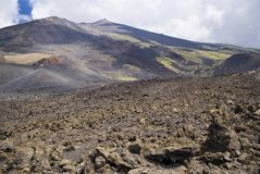 Vulcano di Etna, Italia immagine stock libera da diritti